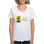 Better Dissatisfied Women's V-Neck T-Shirt