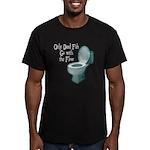 Dead Fish Bowl Men's Fitted T-Shirt (dark)