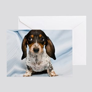 Speckled Puppy Greeting Card