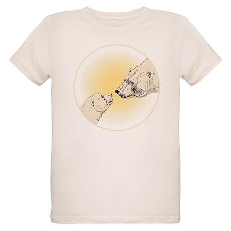 Polar Bear & Cub Organic Kids T-Shirt