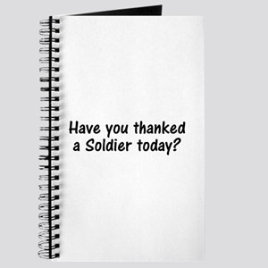 Thank A Soldier Gifts Journal
