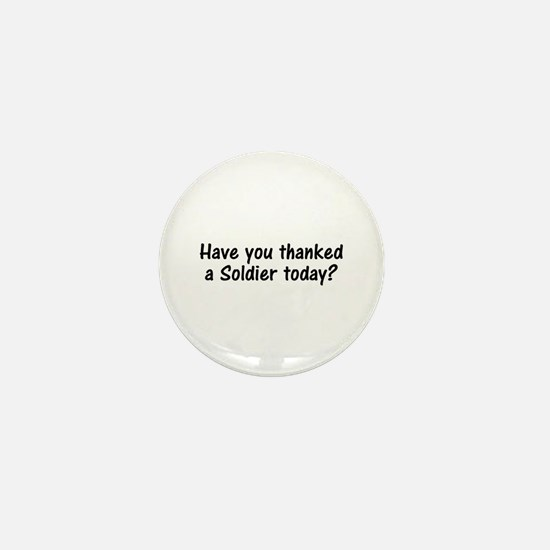 Thank A Soldier Gifts Mini Button