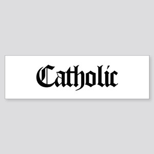 Catholic Bumper Sticker