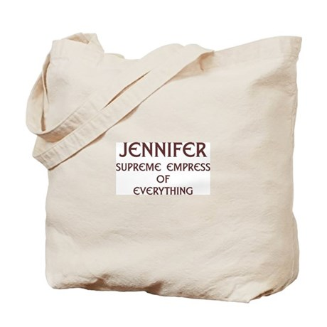 Personalized Jennifer Tote Bag