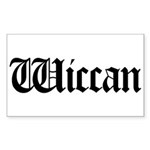 Wiccan Rectangle Sticker 10 pk)