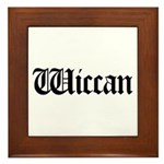 Wiccan Framed Tile