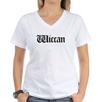 Wiccan Women's V-Neck T-Shirt