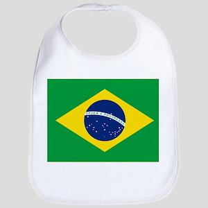 Flag of Brazil Baby Bib