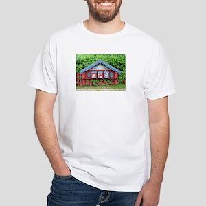 Sundborn Mailboxes White T-Shirt