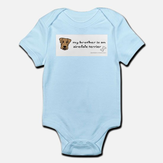 airedale gifts Infant Bodysuit