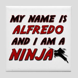 my name is alfredo and i am a ninja Tile Coaster