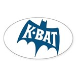KBAT San Antonio 1966 - Oval Sticker