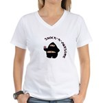 Shock-N-Awesome Women's V-Neck T-Shirt