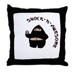 Shock-N-Awesome Throw Pillow