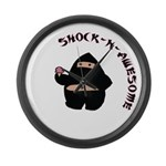 Shock-N-Awesome Large Wall Clock