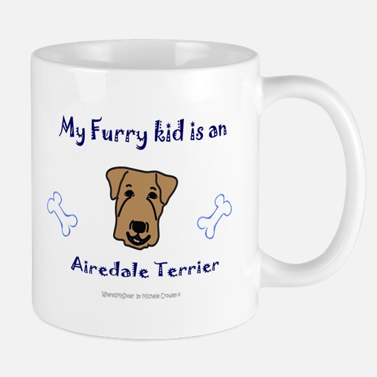 airedale terrier gifts Mug