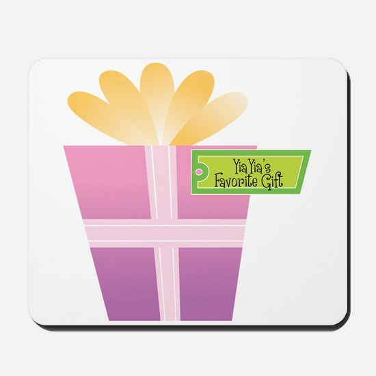 YiaYia's Favorite Gift Mousepad