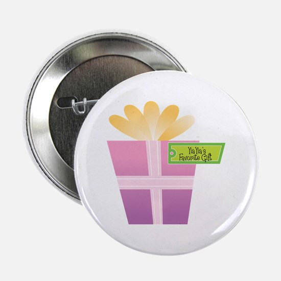 """YiaYia's Favorite Gift 2.25"""" Button"""