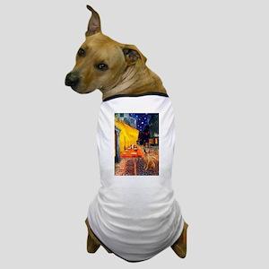 Cafe / Rhodesian Ridgeback Dog T-Shirt