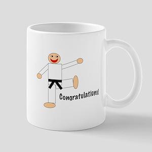 Black Belt Congratulations Mug