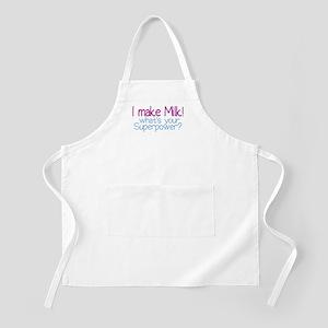I Make Milk (Breastfeeding) BBQ Apron