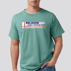 Religion Stops... Color Tee (Front & Back) T-S