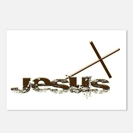 Jesus cross Postcards (Package of 8)
