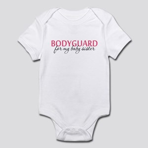 Bodyguard for my Baby Sister Infant Bodysuit
