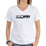New Way Space Models Women's V-Neck T-Shirt