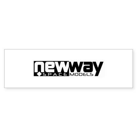 New Way Space Models Bumper Sticker