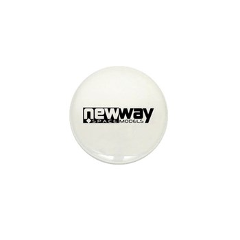 New Way Space Models Mini Button (10 pack)