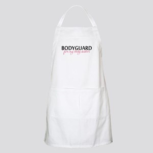 Bodyguard for my Baby Sister BBQ Apron