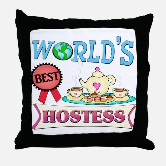 Best Hostess Gift Throw Pillow