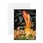 Mideve / Rho Ridgeback Greeting Cards (Pk of 20)