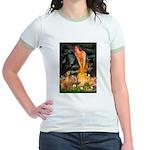 Mideve / Rho Ridgeback Jr. Ringer T-Shirt