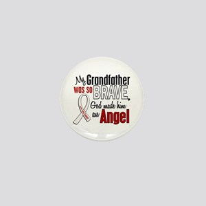 Angel 1 GRANDFATHER Lung Cancer Mini Button