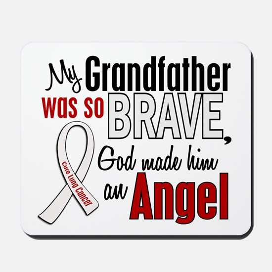 Angel 1 GRANDFATHER Lung Cancer Mousepad