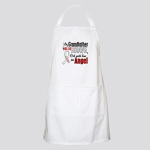 Angel 1 GRANDFATHER Lung Cancer BBQ Apron