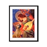 Angel / Rho Ridgeback Framed Panel Print