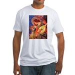 Angel / Rho Ridgeback Fitted T-Shirt