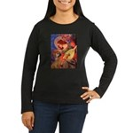 Angel / Rho Ridgeback Women's Long Sleeve Dark T-S