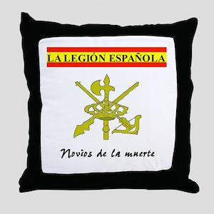 Spanish Legion Throw Pillow
