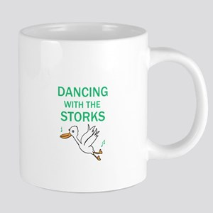 Dancing with the Storks 20 oz Ceramic Mega Mug