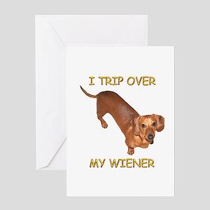 Trip Wiener Greeting Card