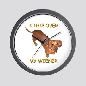 Trip Wiener Wall Clock
