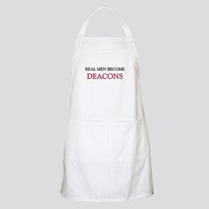 Real Men Become Deacons BBQ Apron