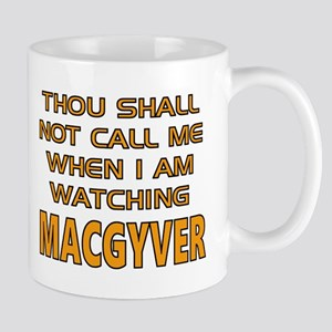 MacGyver Call Alert Mug