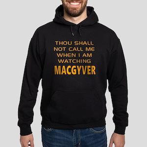 MacGyver Call Alert Hoodie (dark)