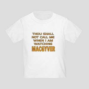 MacGyver Call Alert Toddler T-Shirt