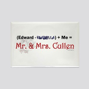 Twilight Mr. and Mrs. Cullen Refrigerator Magnet